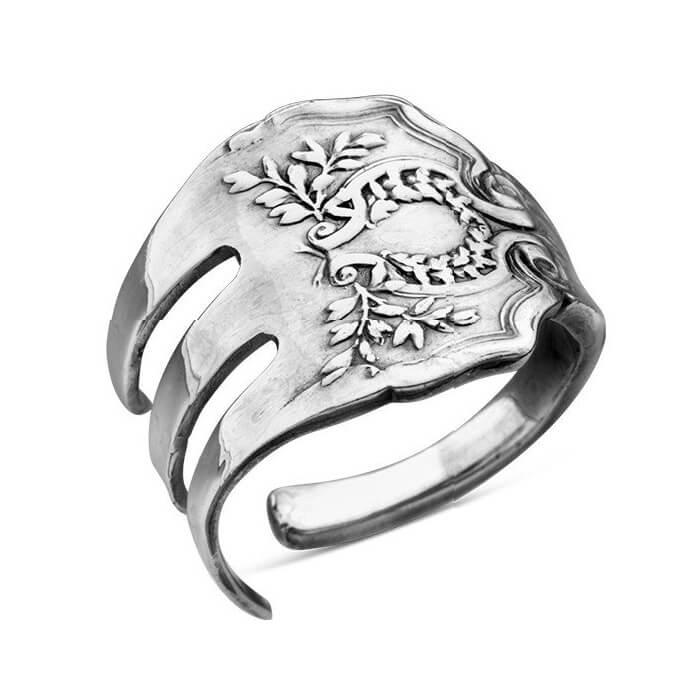 fork laureate spoon ring 780 1