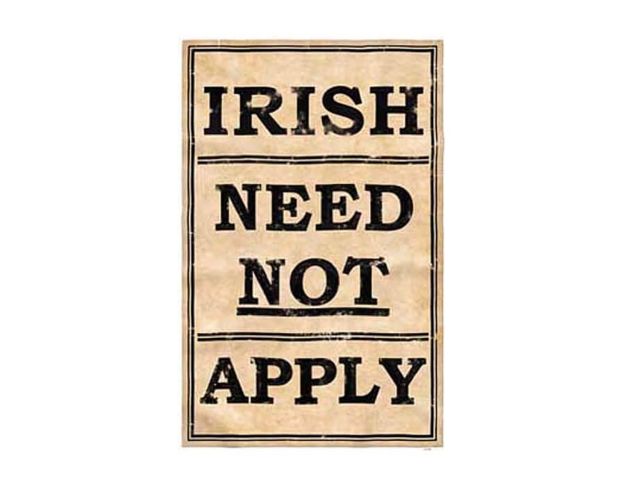 Irish Need Not Apply Magnet - Tenement Museum